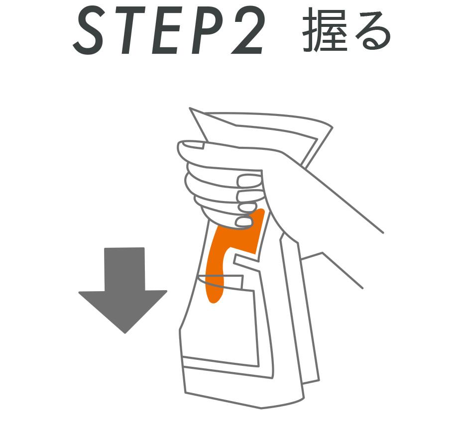 STEP2 握る